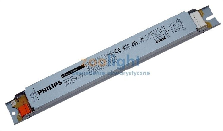 Fluorescent lighting philips ballasts for Ballast aquarium t8