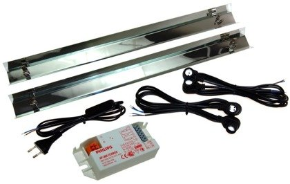 (30cm) 2x8W Light set