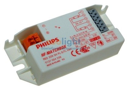 Electronic Ballast PHILIPS HF-M-red 2x8w