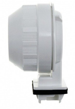 Single Lamp holder for T8 - pressed - REFLECTOR