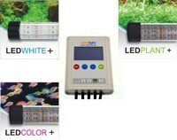 Set of 3 LED lamps Premium  with the ZOOLIGHT controller